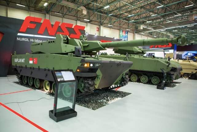 Orders for 100 Turkish-Indonesian Medium Battle Tank