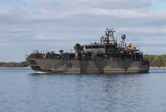 PANSIO Class Minelayers: Atlas Elektronik Finland Successfully Completes Modernization