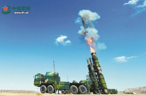 PLA Air Force Improves Comprehensive Combat Capability of Ground Air Defense System