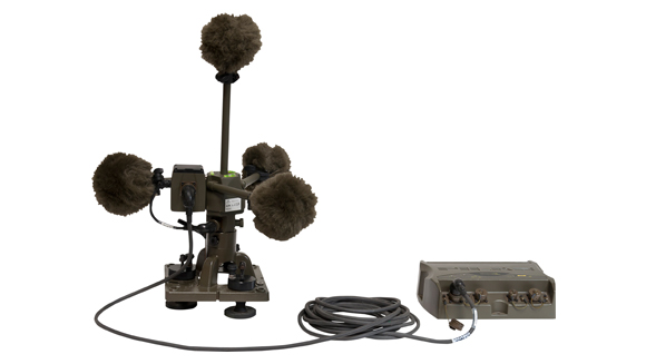 01dB-Metravib PILARw Gunshot Detection Systems (GDS): new advanced version for moving platforms