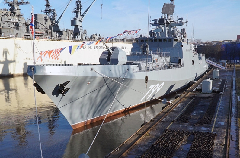 Project 11356: Why Russian Navy Needs Powerful, Fast and Compact Frigates