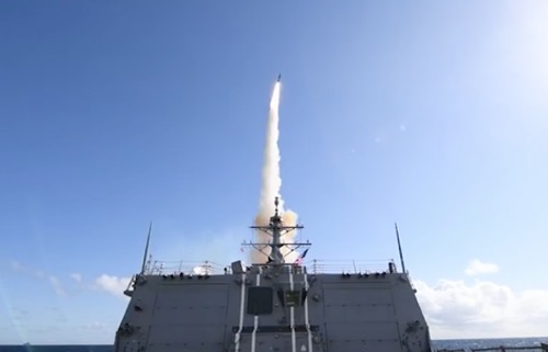 Raytheon Missiles Support Complex NATO Exercise