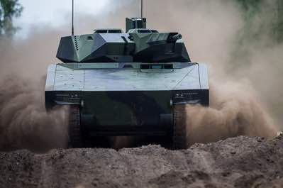 Raytheon, Rheinmetall Join Forces for US Army's Next-Gen Combat Vehicle Competition