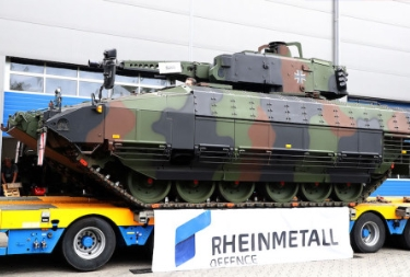 Rheinmetall Ships 200th Puma IFV to the Bundeswehr