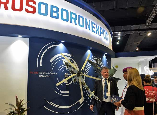 Rosoboronexport to Bring Equipment for All Services to Indo Defense 2018