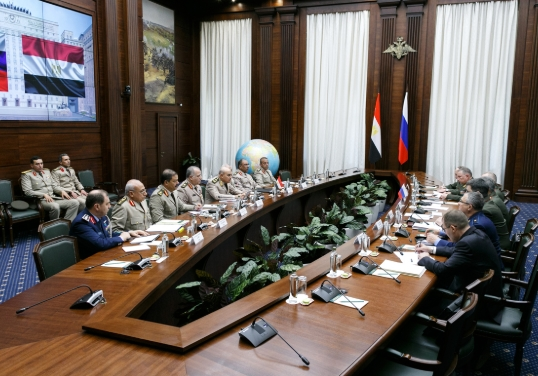 Russia and Egypt Strengthen and Expand Relations in Military Sphere