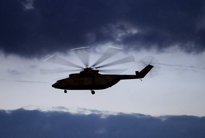 Russia, China Wrap Up Talks on Heavy-Lift Helicopter