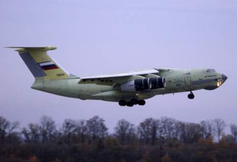 Russia's Heavily Upgraded Military Transport Plane Performs Debut Flight