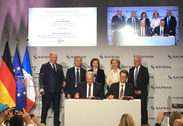 Safran and MTU Aero Engines Join Forces for the Next-Generation European Fighter Engine