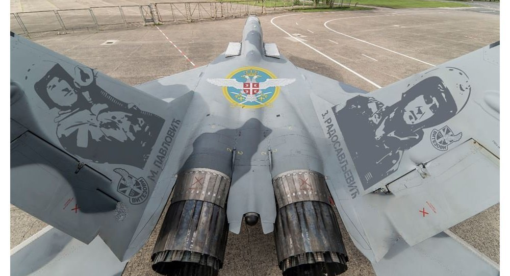 Serbia May Paint Yugoslav Bombings' Victims on Russia's MiGs as a Hint to NATO