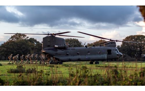 Soldiers' Air Assault Skills Tested