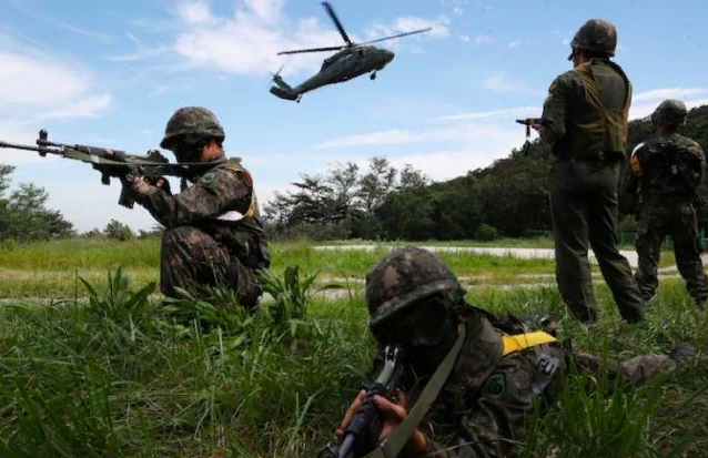 South Korea Suspends Annual Defense Drill
