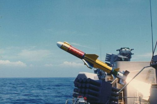 Taiwan Tests New Anti-Ship Missile