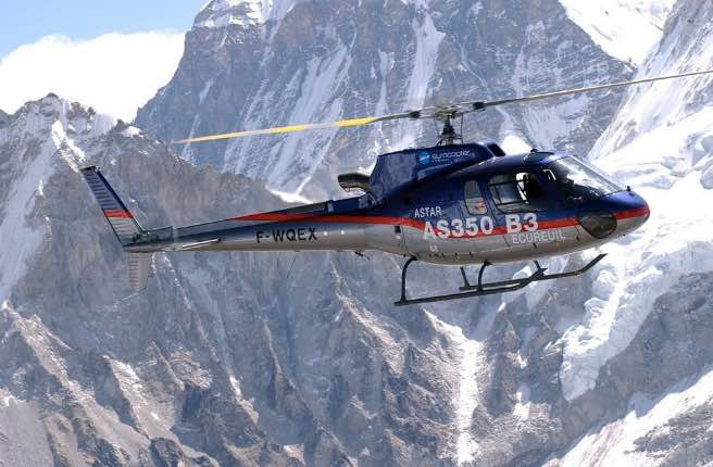 The H125 at the Top of the World