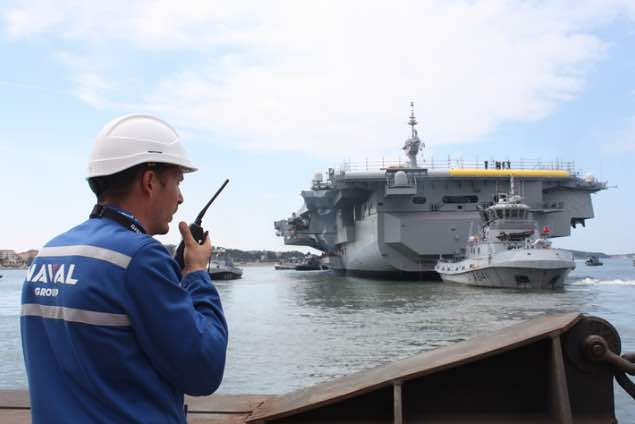 The Mid-Life Refit of the Charles De Gaulle Aircraft Carrier, A Real Industrial Challenge, Has Been Completed