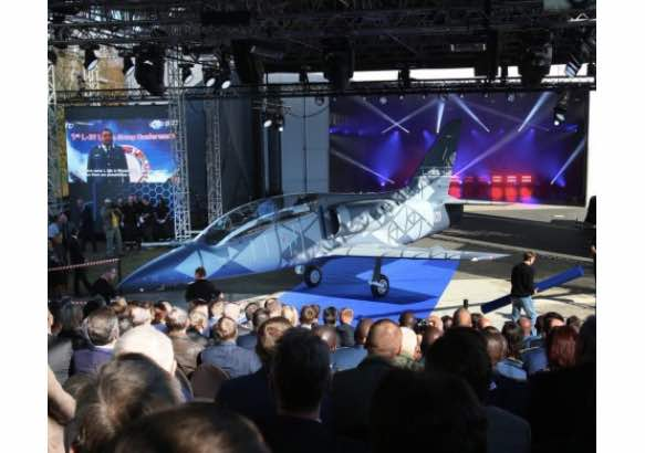 The New Czech Jet Aircraft L-39NG Rolled Out from the Hangar