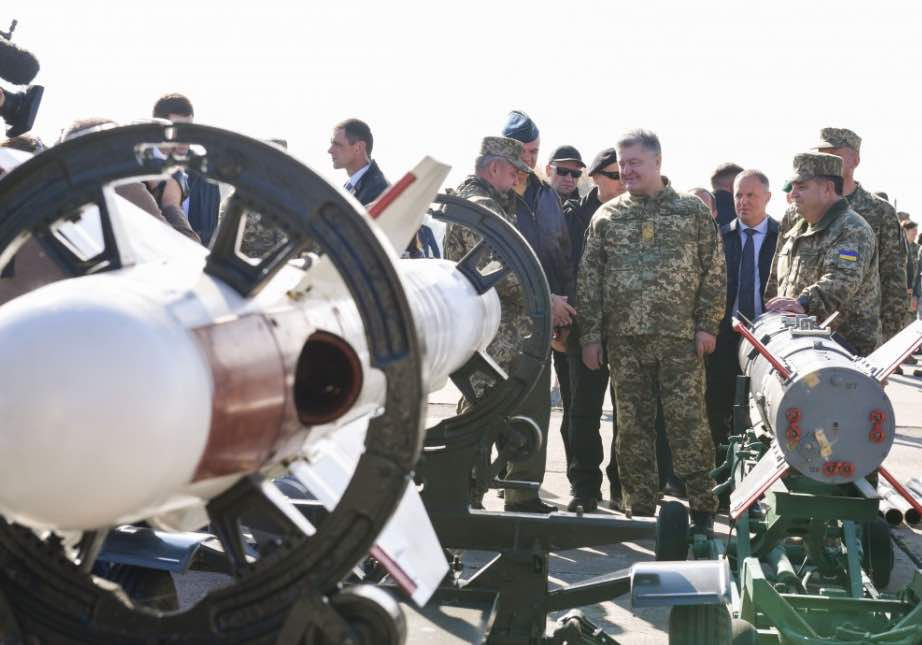 The Ukrainian Army Continues Profound Modernization of Armament and Military Equipment – President