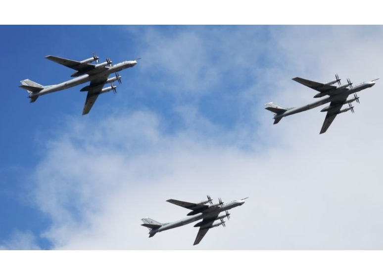 U.S. Jets Intercept Two Russian Bombers Flying Near Alaskan Coast