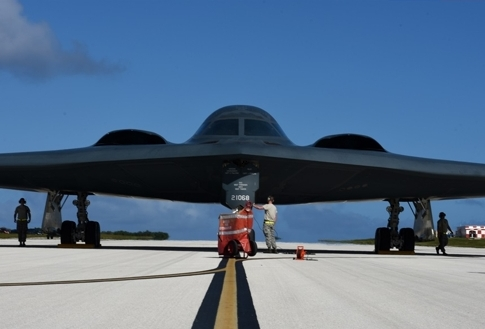 U.S. Sends B-2 Stealth Bombers to Guam