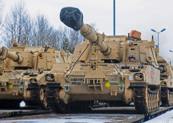 US Army Howitzer Shipment Halted by German Police