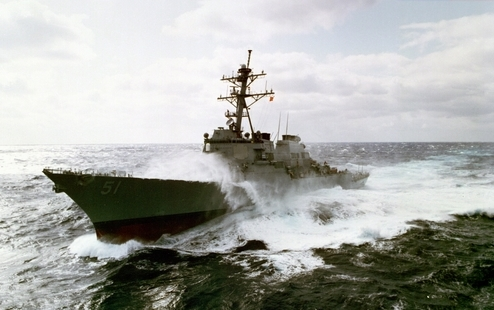 US Navy Cuts Back Hybrid Drive Program