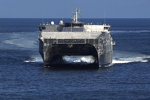USNS Fall River Completes Voyage Repair in Thailand