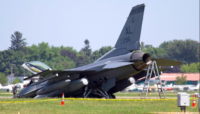 F-16CM Accident Report Released