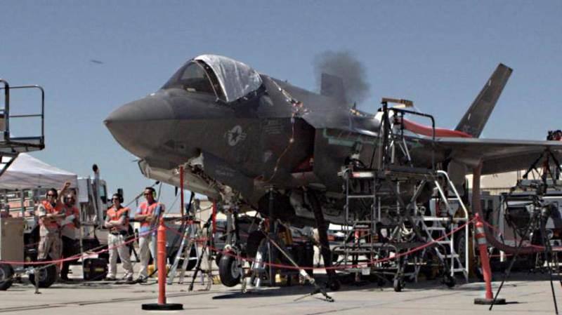 Joint Strike Fighter ITF Ground Testing F-35 Gun