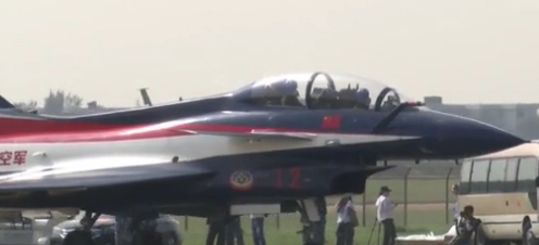 First footage of China's fifth generation fighter