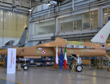Final Assembly Begins for the First Two Polish Air Force M-346 Aircraft