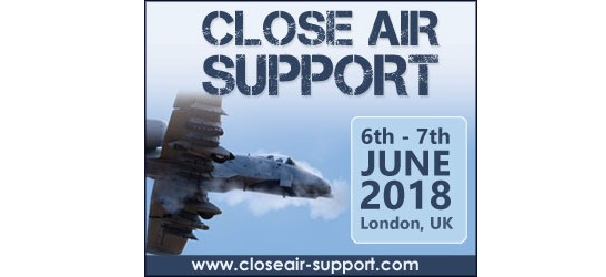 Registration opens for the 4th annual Close Air Support conference London