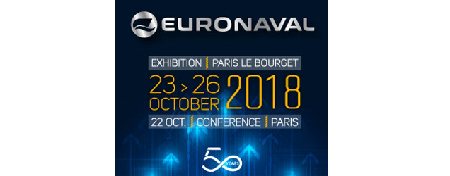 The Euronaval 2018 Exhibition Intensifies Its Focus On The Future And Celebrates Its 50th Anniversary