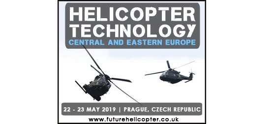 Exclusive senior speaker interviews with US Army Aviation Center & British Army released for Helicopter Technology Central and Eastern Europe 2019