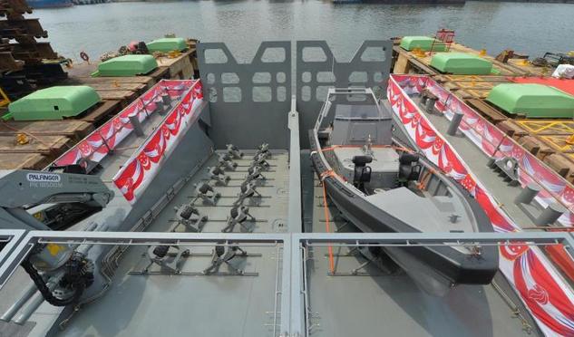 слип для спуска лодок на воду