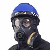 Argus ER1(3) Police CBRN Helmet by Helmet Integrated Systems